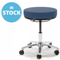 Dark Blue Round Medical Stools (In Stock)
