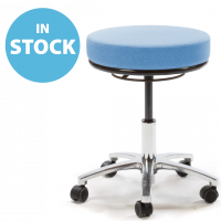 Sky Blue Round Medical Stool (In Stock)