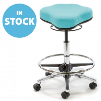 Turquoise Dual Curve Medical Stool (In Stock)