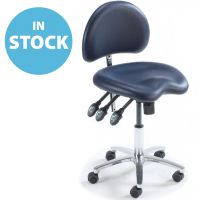 Dark Blue Contoured Medical Chair (In Stock)