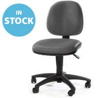 Dark Grey Operators Chair (In Stock)
