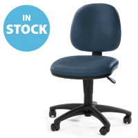 Dark Blue Operators Chair (In Stock)
