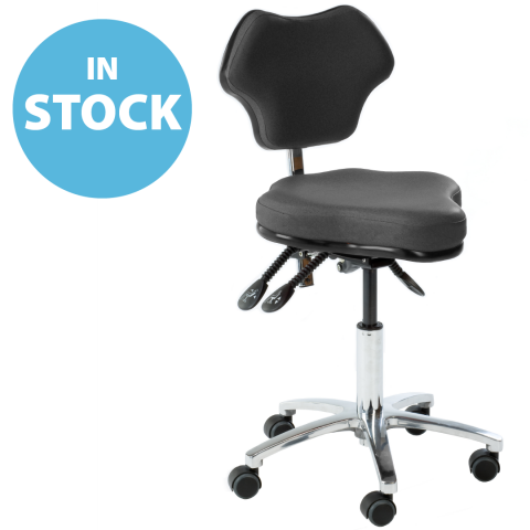 Refurbished Anthracite Surgeons & Sonographers Chairs (In Stock)