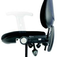 Fold-Back Arm Rests for Medical Seating Products
