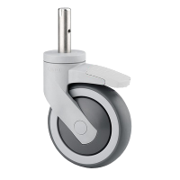 TENTE 125mm Independently Locking Swivel Castor