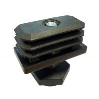 Medi-Plinth Adjustable Foot - 50mm x 30mm