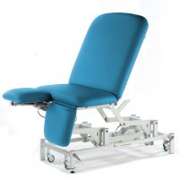 Medicare Bariatric Drop End Couch (Dual Foot)
