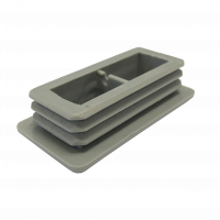 Rectangular Insert Cap - 50mm x 25mm