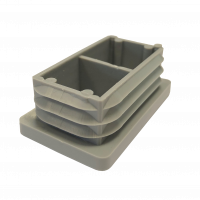 Rectangular Base Insert Cap - 50mm x 30mm