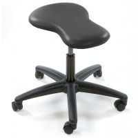 Ergonomic Keyhole-Shaped Stool