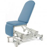 Medicare Multi Couch Electric - Single Footrest - Sky Blue (In Stock)