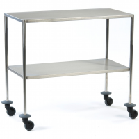 Stainless Steel Instrument Trolley (90cm x 45cm)