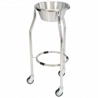 Stainless Steel Tripod Single Bowl Stand