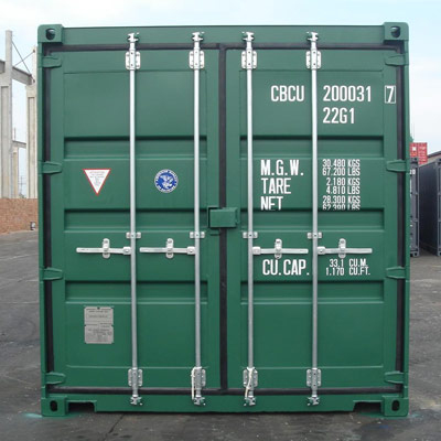 Standard Shipping Container Cargo Door