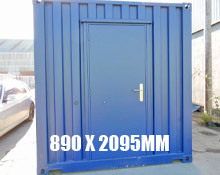 890 x 2095mm Personnel Doors | Buy Shipping Container Products Online