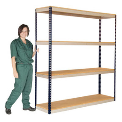 Heavy Duty Boltless Widespan Shelving