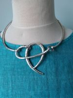 Abstract Heart Choker Necklace