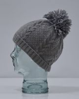 Cashmere/Merino Wool Mix Bobble Hats