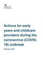 FREE Download Actions for early years and childcare providers during the coronavirus (COVID19) outbreak
