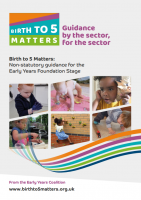 Birth to 5 Matters: 2021 Non-statutory guidance for the Early Years Foundation Stage