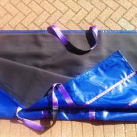 Solar panel lifting bags, PV solar panel access bags.