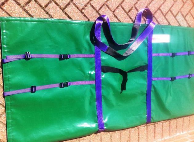 Solar Panel Bag - Green