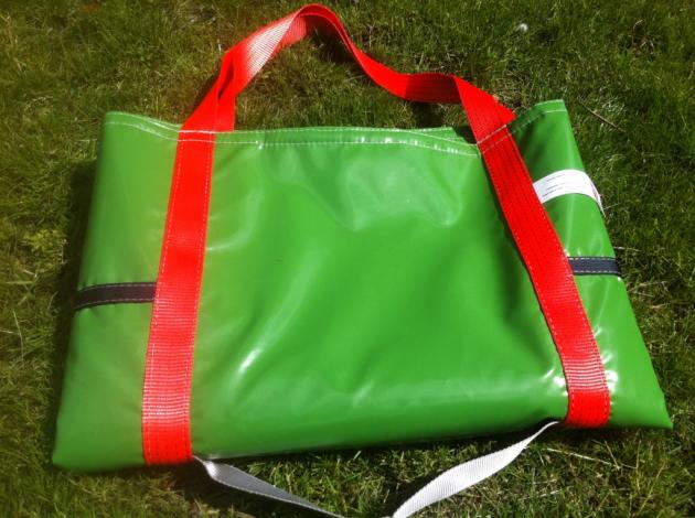 Our Green Solar Panel Lifting Bag