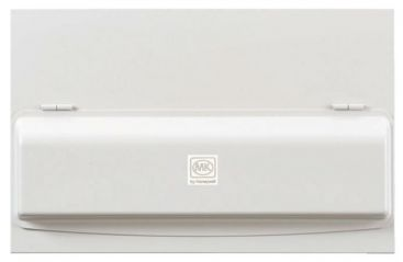 MK K7666SMET Amendment 3 10 Ways Dual RCD Consumer Unit Fully Loaded