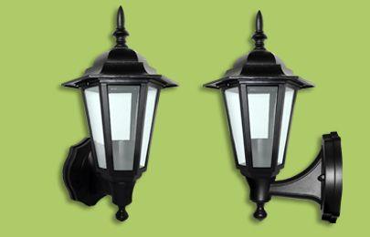 Eterna L60B Polycarbonate Lantern - Black