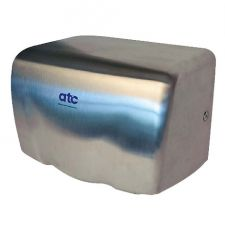 ATC Puma Compact High Speed Hand Dryer Matt Stainless Steel