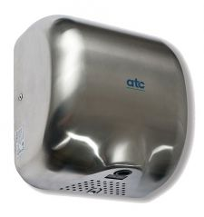 ATC Cheetah Automatic High Speed Hand Dryer 1475W Matt Steel