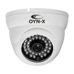 Qvis Onyx 4 in 1 5MP Eyeball Dome Camera Fixed Lens White