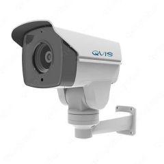 Qvis Onyx IP 2MP Mini PTZ CCTV 10X Optical Zoom Lens Camera White