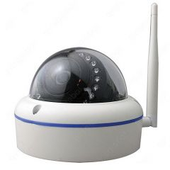 SECYOUR Wifi 2MP Dome Camera 4mm Lens Plug & Play
