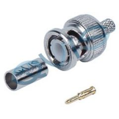 BNC 3 Piece Crimp Plug