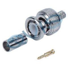BNC 3 Piece Crimp Plug