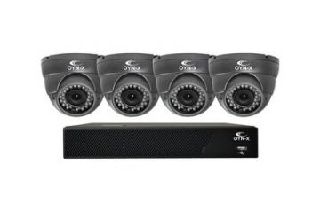 Qvis Nitro 1080N 4 Channel 1TB CCTV Kit with 4 AHD 2MP Cameras