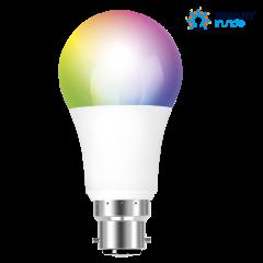 Aurora AOne AU-A1GSZ9RGBWB9.5 Watt BC/B22 Smart RGBW GLS LED Lamp