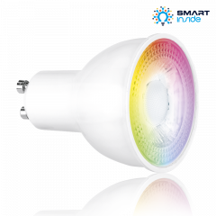 Aurora AOne AU-A1GUZBRGBW 5.6 Watt Smart Tuneable RGB & White GU10 LED Lamp