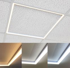 Heathfield 24W LED Frame Light 595x595mm Tri Colour