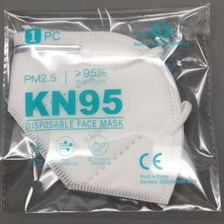 KN95 Protective Face Mask Single Polybag Pack