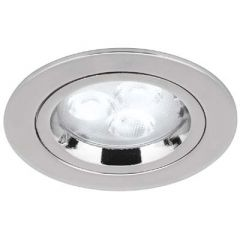 Aurora AU-DLM356PC GU10 Die Cast Fixed Downlight Polished Chrome