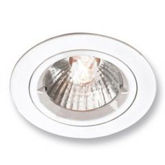Aurora AU-DLM356W GU10 Die Cast Fixed Downlight White
