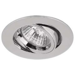 Aurora AU-DLM357PC GU10 Die Cast Tilt Downlight Polished Chrome