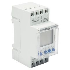 BG CUTS11 Timer Digital 2 Channel Din Rail Mount