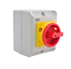 BG CPRSD416 16A Rotary Isolator 4P AC IP65