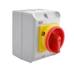 BG CPRSD432 32A Rotary Isolator 4P AC IP65