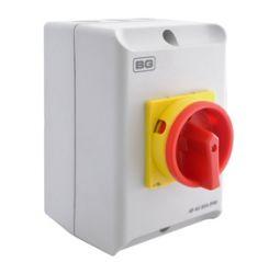 BG CPRSD463 63A Rotary Isolator 4P AC IP65