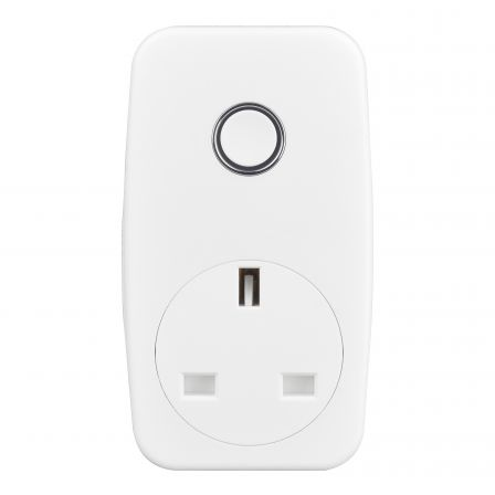 BG AHC/U-01 Nexus Moulded White Smart Power 13A Adaptor