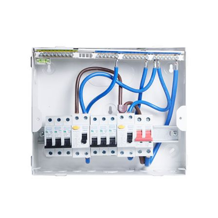 BG CFUDP16606 Amendment 3 6 Way Dual RCD Consumer Unit and 6 MCB'S